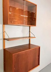 midcentury design wall unit wandsysteem Royal systeem Denmark Scandinavian