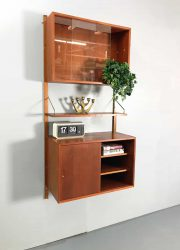 Midcentury design wall unit wandsysteem Poul Cadovius Royal system