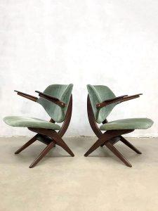 midcentury design Pelican chair fauteuil Webe