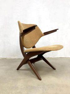 midcentury design Pelican chair webe louis van teeffelen