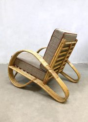 vintage design rotan stoel rattan chair bamboo bamboe midcentury modern