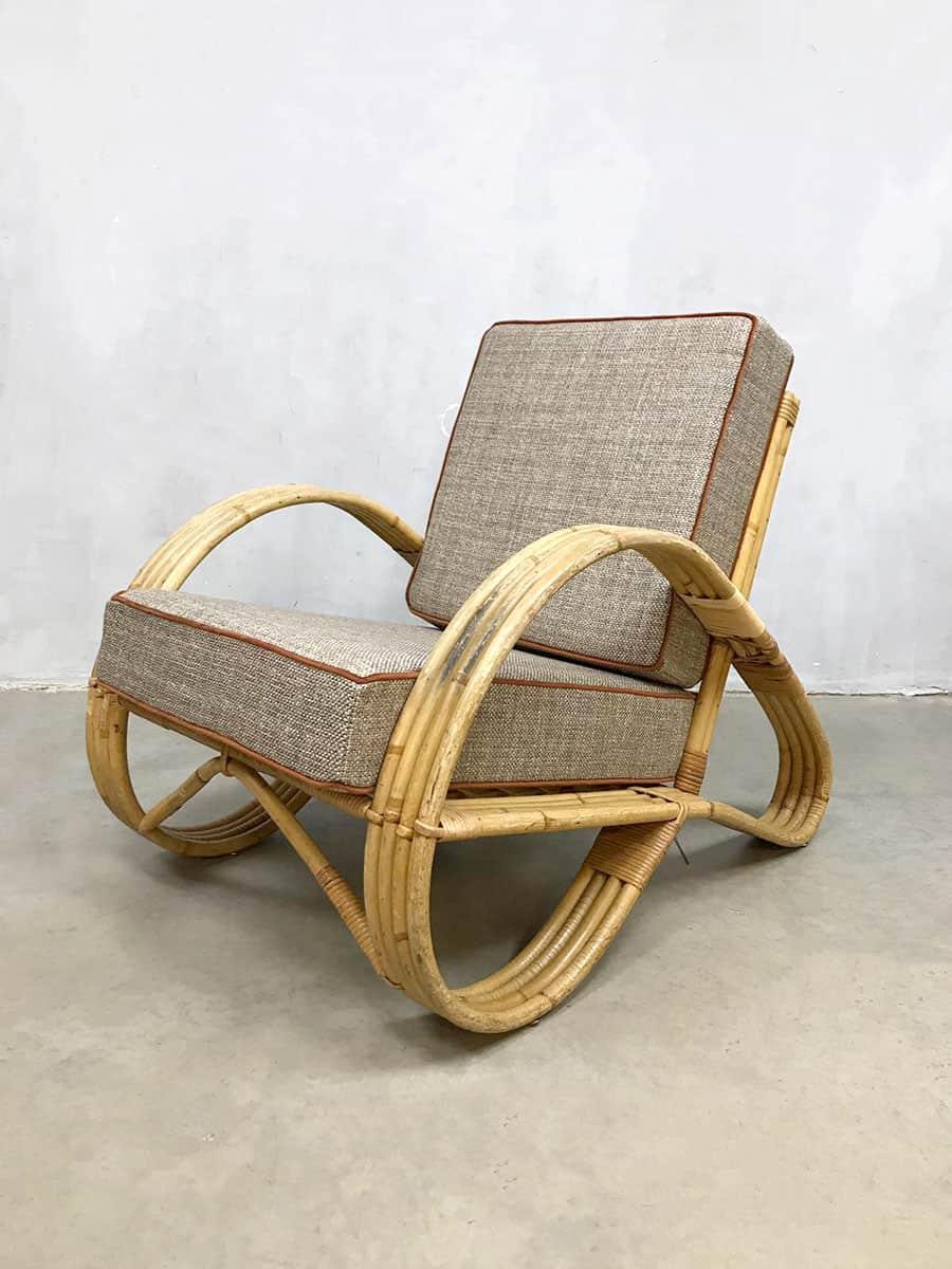 Design Stoel Lounge.Vintage Design Rattan Armchair Lounge Fauteuil Rotan Stoel Paul