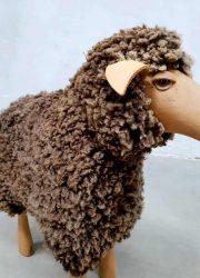 vintage schapen voetenbank footstool ottoman Peter Krafft Meier