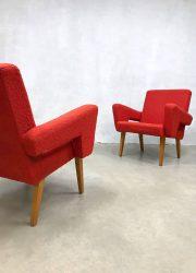vintage design Czech Republic lounge fauteuils