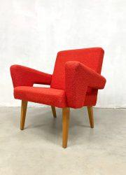 vintage Czech design chairs lounge fauteuils Tatra