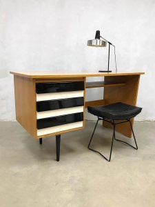 Vintage Czech design desk bureau Jiri Jiroutek Interier Praha