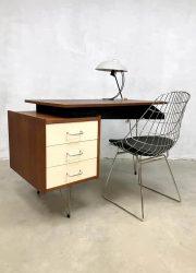 Vintage Dutch design Pastoe desk bureau Cees Braakman