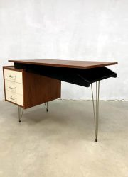vintage Dutch design desk Cees Braakman bureau Dutch design