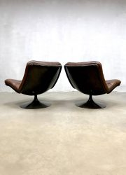 midcentury dutch design artifort chairs lounge stoelen
