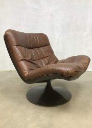 vintage swivel chairs draaistoelen Geoffrey Harcourt F976