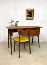 midcentury design teak desk bureau Danish design