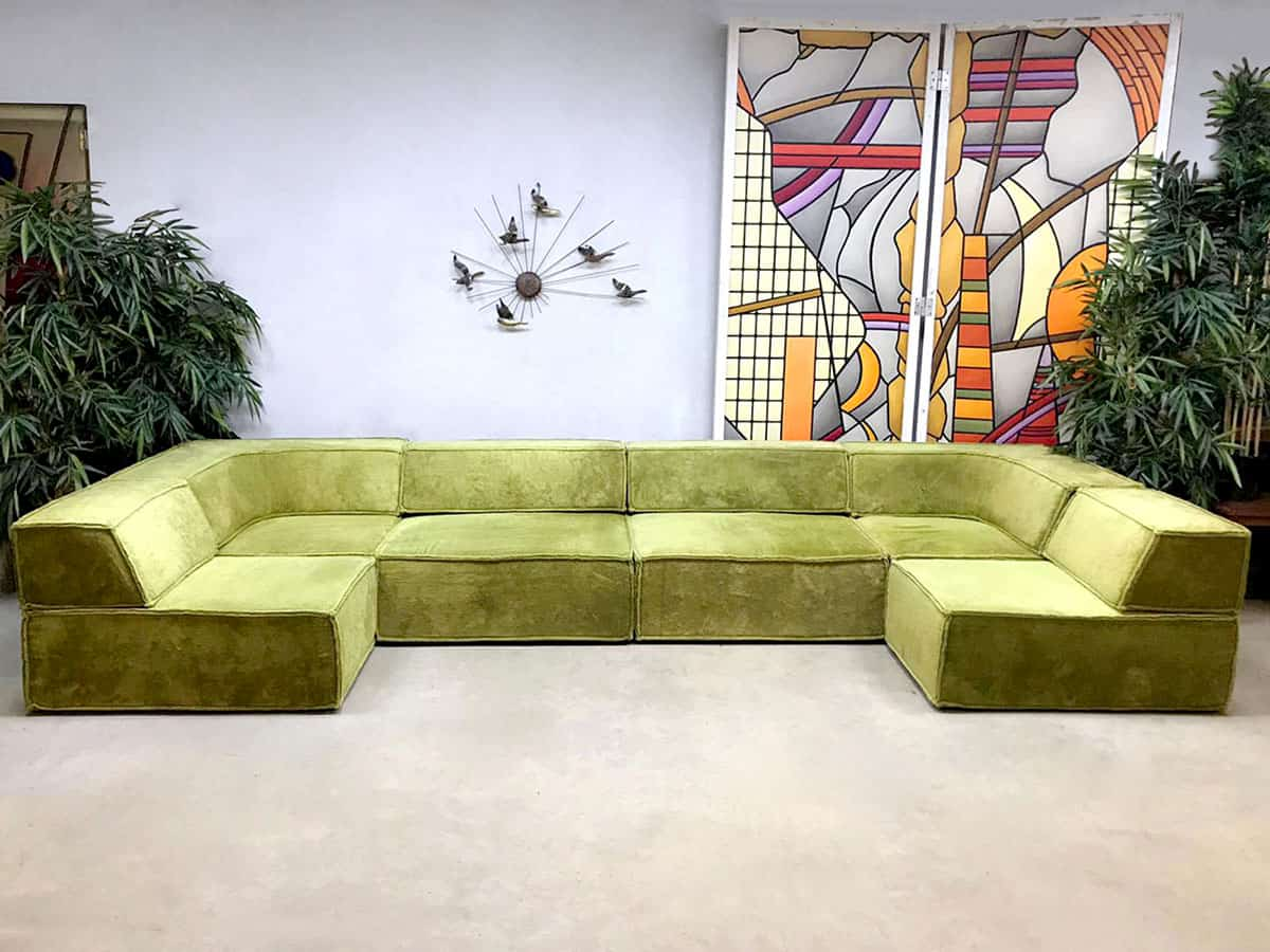 Design Bank Losse Elementen.Vintage Design Modular Sofa Elementen Bank Cor Team Form Ag