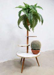Vintage retro sixties plant stand display flower table plantentafel