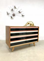 vintage ladekast kast dressoir Praha Interier Jiri Jiroutek chest of drawers