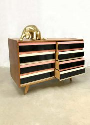 vintage sideboard cabinet chest of drawers Praha Jiri Jiroutek ladekast