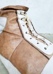 vintage design leather beanbag leren zitzak schoen De Sede Switserland