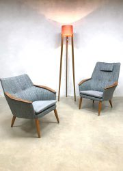 vintage Dutch design arm chairs Bovenkamp lounge fauteuils 3