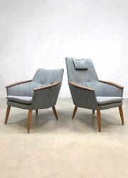 Vintage Dutch design armchairs fauteuils Bovenkamp Madsen & Schubell