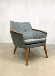 vintage armchair fauteuil Dutch design Bovenkamp MAdsen Schubell stoel