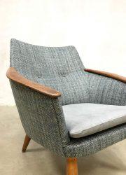 vintage Dutch design armchairs easy chair Madsen Schubell Bovenkamp