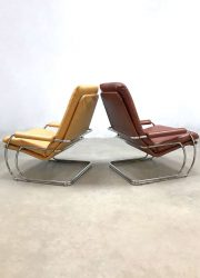 Vintage Gelderland easy chairs armchairs Jan Des Bouvrie