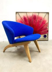 Vintage Dutch design easy chair fauteuil Theo Ruth Artifort