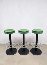 industrial barstools velvet green grote partij barkrukken