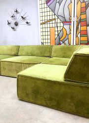 vintage sofa bank COR german design lime green