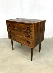 Ladekast vintage Rosewood chest of drawers design Danish Deens