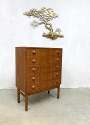 Vintage Danish design chest of drawers ladekast Kai Kristiansen