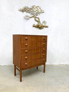 Vintage Danish design chest of drawers ladekast Kai Kristiansen