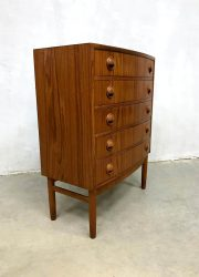 midcentury chest of drawers Kai Kristiansen Vintage Danish design chest of drawers ladekast Kai Kristiansen Vintage Danish design chest of drawers ladekast Kai Kristiansen Feldballes Møbelfabrik