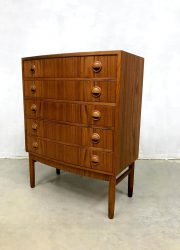 vintage Danish chest of drawers midcentury Kai Kristiansen Mobelfabrik