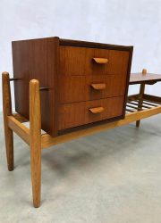 Arne Wahl Iversen tv cabinet sideboard Danish design ladekast bijzettafel