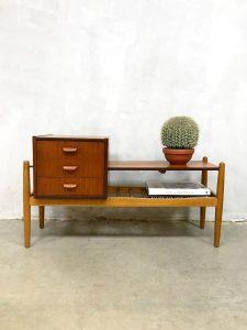 Midcentury Danish design tv cabinet sideboard Arne Wahl Iversen