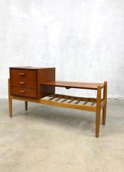 micentury teak wood cabinet Danish design tv kast cabinet sideboard