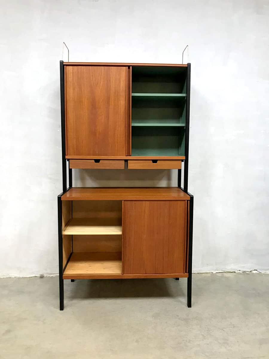 Midcentury Vintage Design Swedish Teak Cabinet Kast Bodafors
