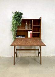 Vintage danish midcentury design kast teak hout cabinet