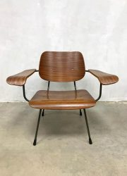 midcentury design arm chair Dutch minimalism design