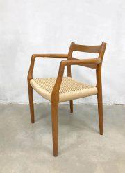 midcentury design chairs stoelen Niels O Moller Scandinavian design