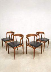 vintage Danish dining chairs eetkamerstoelen Uldum Johannes Andersen