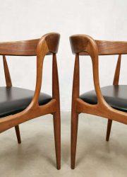 midcentury Uldum Andersen eetkamerstoelen stoel eetkamerstoelen
