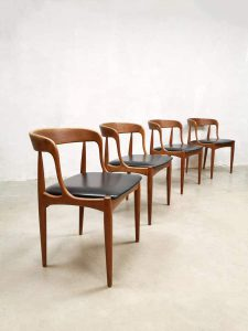 Vintage dining chairs eetkamerstoelen Johannes Andersen Uldum
