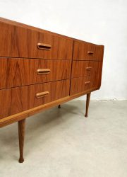 midcentury Danish dressing table chest of drawers teak ladekast