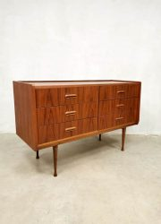 midcentury kaptafel ladekast Danish design dressing table