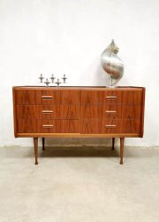 Vintage Danish design dressing table chest of drawers kaptafel ladekast