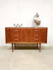 Vintage Danish design dressing table chest of drawers kaptafel ladekast