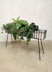 Vintage design wire plant stand plantenstandaard minimalism