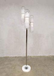 vintage floorlamp Carlo Nason Mazzega space age lamp