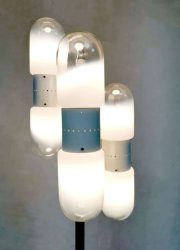 midcentury italian design floorlamp mazegga vloerlamp